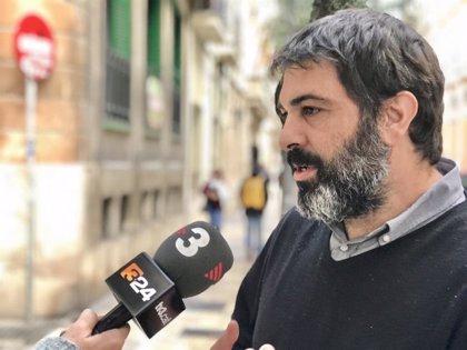 MÉS critica las ayudas del Gobierno central a las televisiones y pide que se atienda a los medios locales