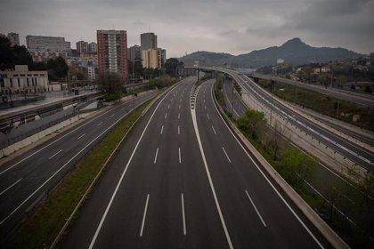 El tráfico bajó un 36% más la segunda semana del estado de alarma en el área de Barcelona