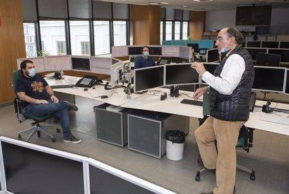 Sánchez Galán visita el centro de operación de distribución de Iberdrola en Bilbao