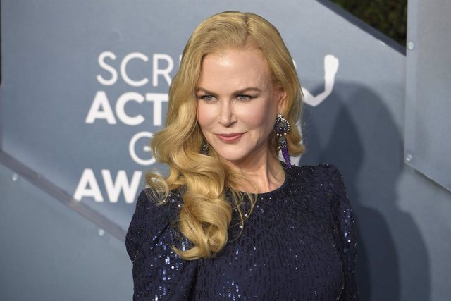 19 January 2020, US, Los Angeles: Nicole Kidman poses as she arrives to attend the 26th annual Screen Actors Guild Awards ceremony at the Shrine Auditorium. Photo: Kevin Sullivan/ZUMA Wire/dpa