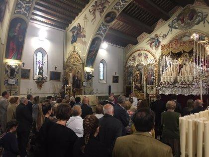 La hermandad de Santa Genoveva de Sevilla suspende el pago de cuotas a sus hermanos hasta que acabe el estado de alarma