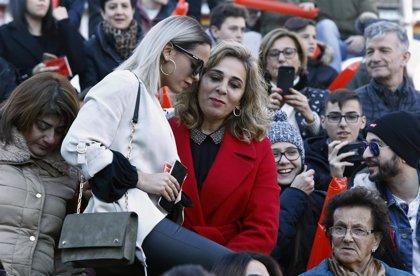 Gloria Camila, decepcionada y enfadada con la actitud de Ana María Aldón