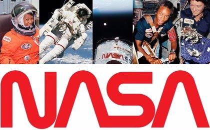 La NASA relanza su logotipo de gusano 28 años después