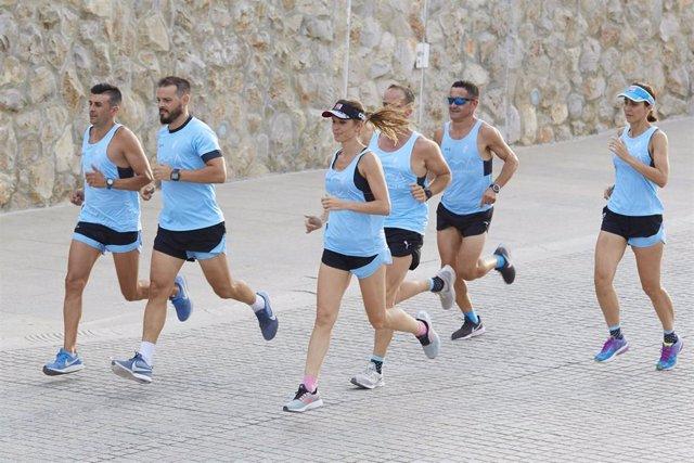 Club de corredores de la empresa valenciana Sanus Vitae