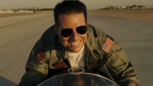 Tom Cruse en Top Gun: Maverick