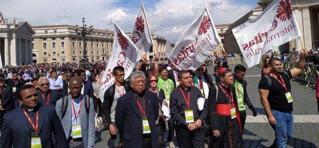 Participantes en la Asamblea General de Cáritas Internationalis 2019 en Roma