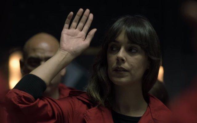 Belén Cuesta en la temporada 4 de La casa de papel