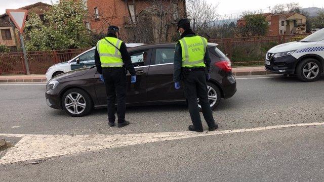 Control policial durante el estado de alarma por la crisis de coronavirus