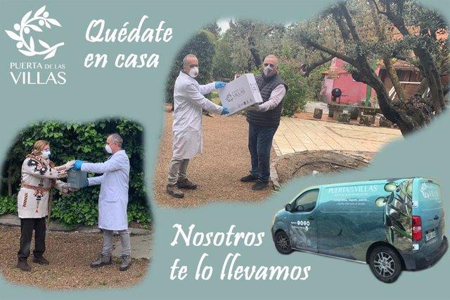 Jaén.- Coronavirus.- Una cooperativa de Mogón se ofrece a llevar aceite de oliva