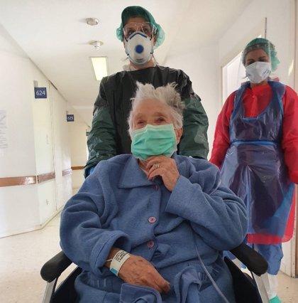 Recibe el alta una soriana de 97 años que había dado positivo en Covid-19