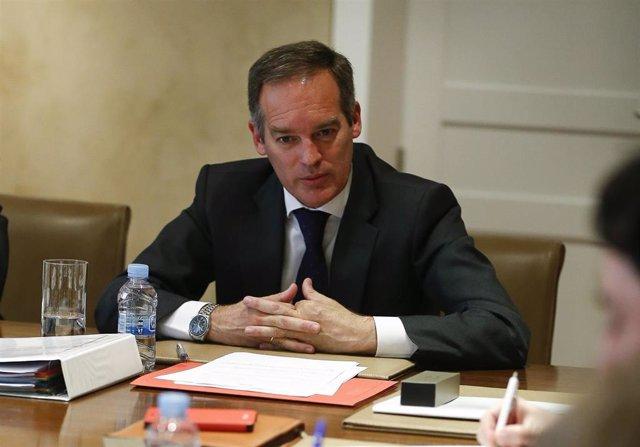 El consejero delegado de Generali España, Santiago Villa