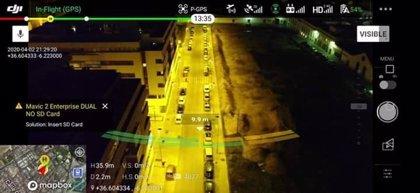 El Puerto de Santa María (Cádiz) implementa los controles de seguridad con el uso de drones