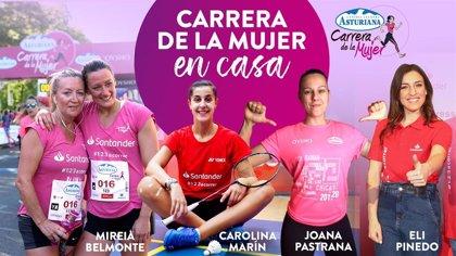 Belmonte, Marín, Pastrana y Pinedo participan este domingo en la Carrera de la Mujer en casa
