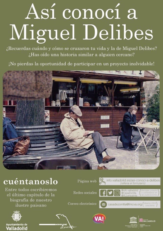 Así conocí a Miguel Delibes, Ayuntamiento de Valladolid - Escribir durante la cuarentena
