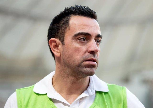 Xavi Hernández, entrenador del Al-Sadd.