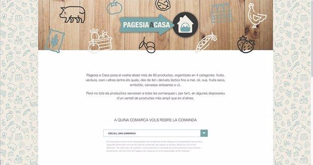 Unió de Pagesos ha puesto en marcha en su web el proyecto 'Pagesia a casa' durante el coronavirus