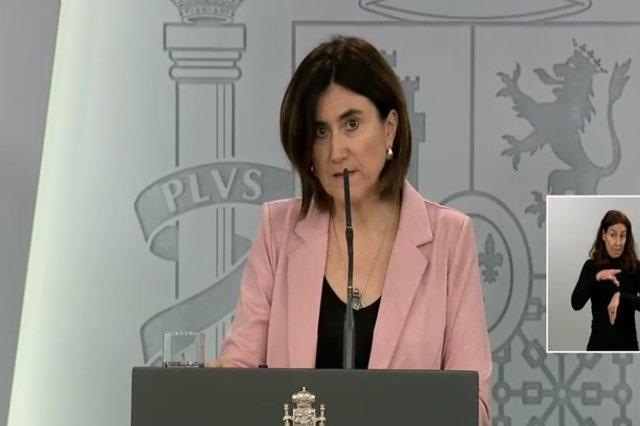 Rueda de prensa de la doctora María José Sierra, del Centro de Coordinación de Alertas y Emergencias Sanitarias