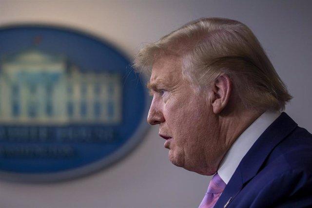 Imagen del presidente de Estados Unidos, Donald Trump.