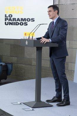 """Coronavirus.- Sánchez advierte de que """"Europa se la juega"""" y reclama una gran mo"""