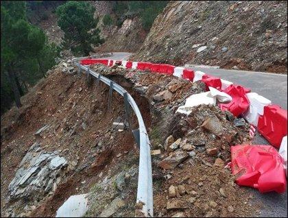 Diputación de Málaga finaliza la redacción de 19 proyectos de obras para reparar daños sufridos por temporales de 2018
