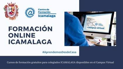 El Colegio de Abogados de Málaga ofrece jornadas online para seguir la formación durante el estado de alarma