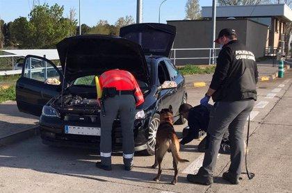 Denunciados en Marcilla dos conductores que se desplazaban a una fiesta en Pamplona