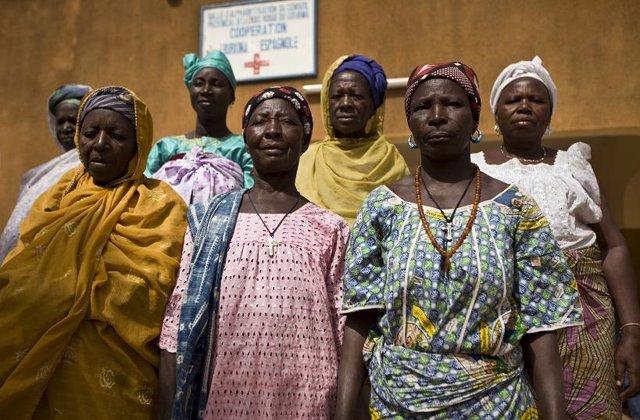Mujeres de Burkina Faso