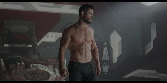 1. El tremendo entrenamiento casero de Chris Hemsworth para Thor: Love and Thunder (VIDEO)