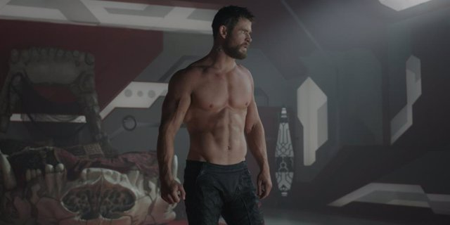 Chris Hemsworth en Thor: Ragnarok