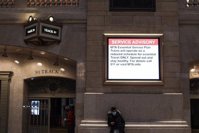 Coronavirus.- Nueva York alcanza los 122.000 contagios y rebasa ya los 4.000 fal