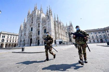 Italia registra el número diario de fallecidos más bajo desde el 19 de marzo