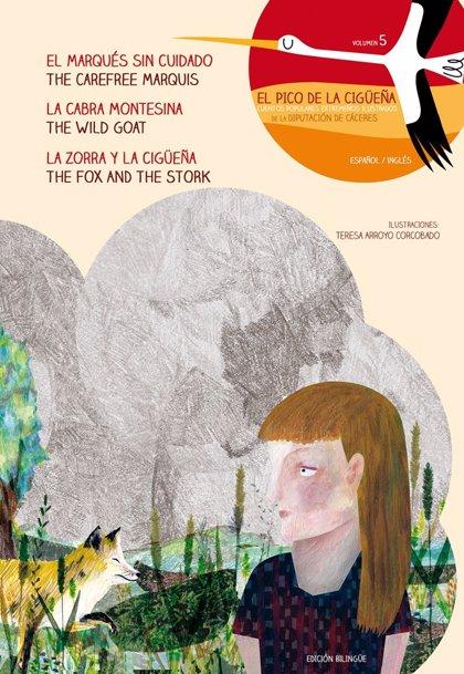 El volumen 5 de los cuentos 'El pico de la cigüeña' ya está disponible para su descarga online