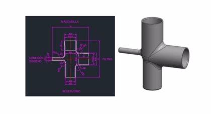 Hospital Príncipe de Asturias y HP diseñan un circuito respiratorio que mejora la oxigenación de pacientes con Covid-19