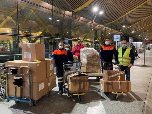 Un grupo de empresarios colabora en la importación de respiradores para luchar contra el Covid-19