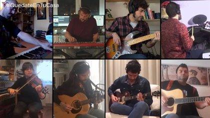 Músicos toledanos confinados componen una canción para concienciar de quedarse en casa