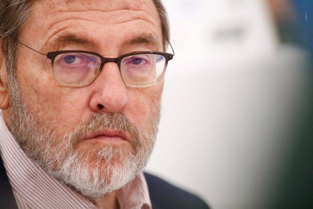 El presidente de la Fundación España Activa, Jaime Lissavetzky, durante un Desayuno de Europa Pres en el hotel Intercontinental Hotel de Madrid