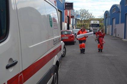 Cruz Roja Extremadura inicia una nueva campaña de reparto de cestas de alimentos a personas vulnerables