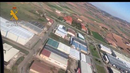 La Guardia Civil intensifica la vigilancia en zonas industriales para garantizar la prestación únicamente
