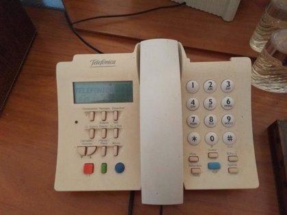 El consumo del teléfono fijo aumenta un 124% en la Región de Murcia durante el confinamiento
