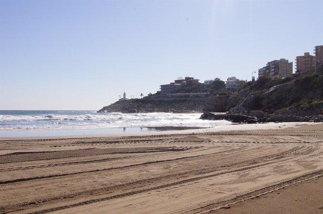 Cullera, vista desde la Playa Del Dosel