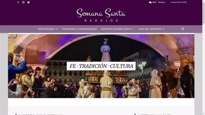 La Semana Santa virtual de Badajoz atrae a más de 18.000 personas con más de 8.000 reproducciones de contenidos
