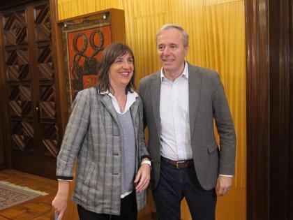 El PSOE propone un pacto al alcalde de Zaragoza que contenga ayudas directas a los autónomos