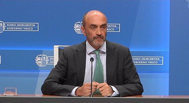 El director de Planificación, Ordenamiento y Evaluación Sanitaria del Gobierno Vasco, Mikel Sánchez