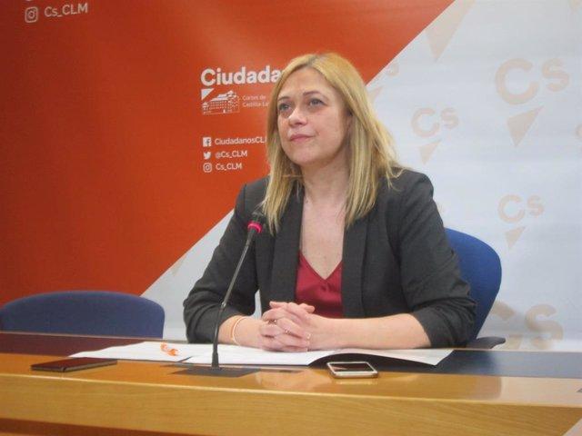 La portavoz de Cs en C-LM, Carmen Picazo.