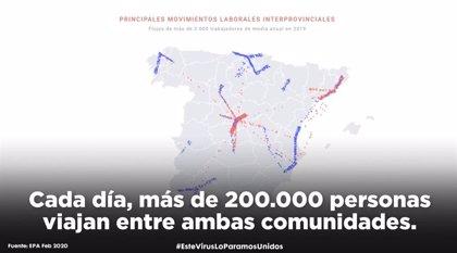 PSOE C-LM lanza un vídeo para explicar la acción del virus en la región debido a la vinculación con Madrid