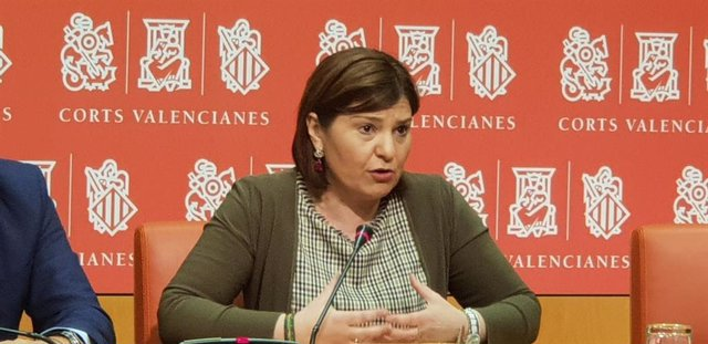 La presidenta del PPCV, Isabel Bonig, en imagen de archivo