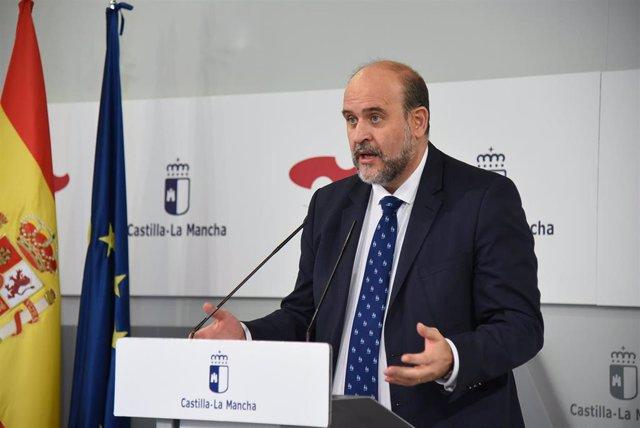 El vicepresidente de C-LM, José Luis Martínez Guijarro.
