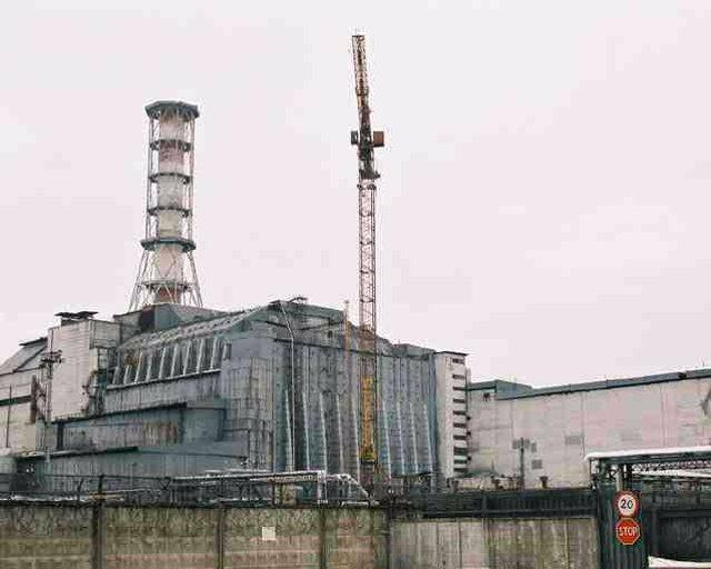 Imagen de archivo de la central de Chernóbil