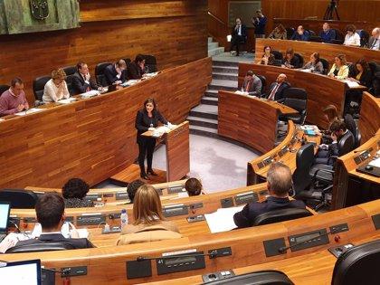 Podemos Asturies propone que diputados y Gobierno donen la mitad de su sueldo