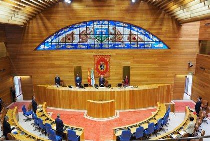 Los diputados que quedan en la Cámara gallega se bajan o piden reducir su sueldo por la crisis del covid-19